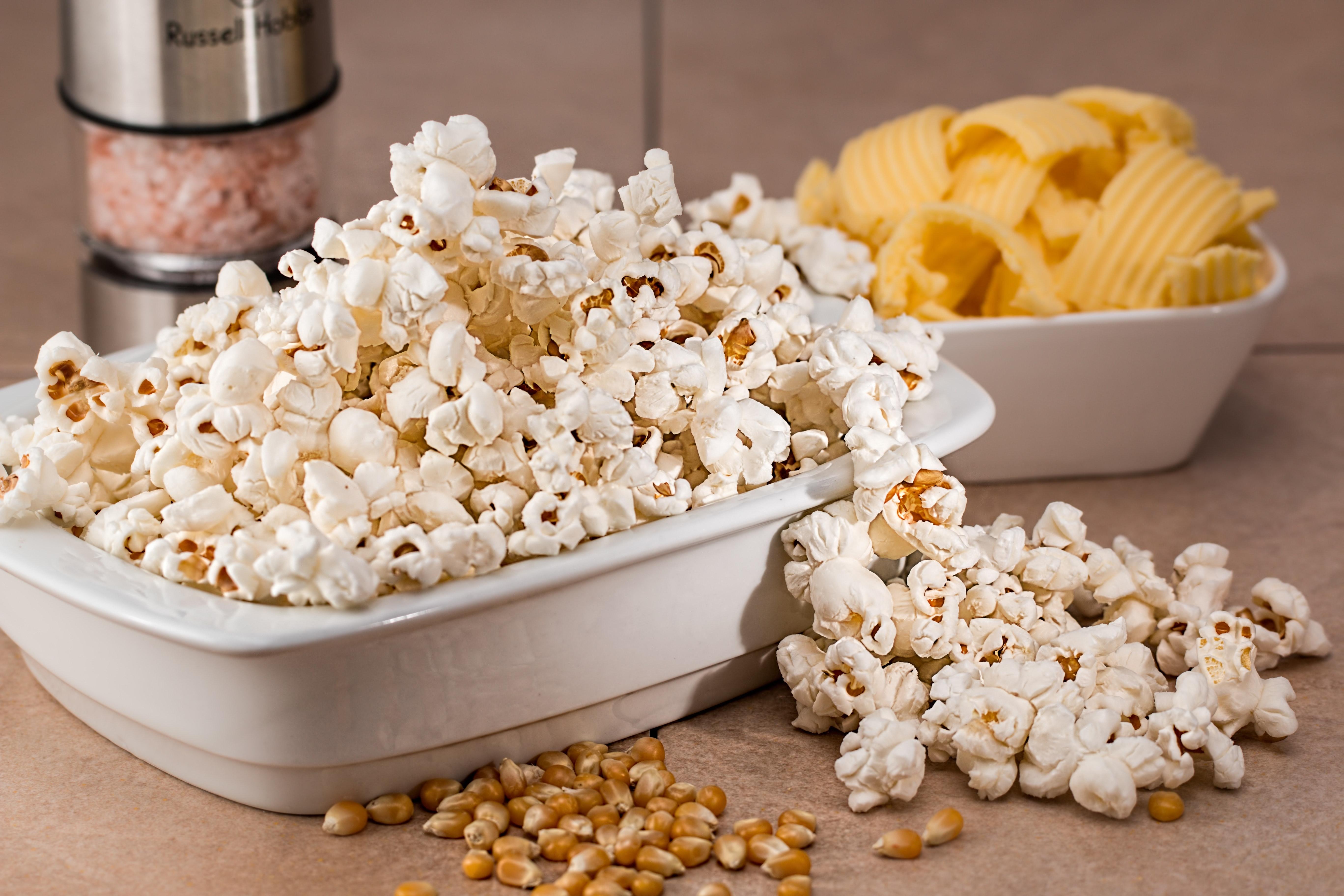 healthy popcorn ideas